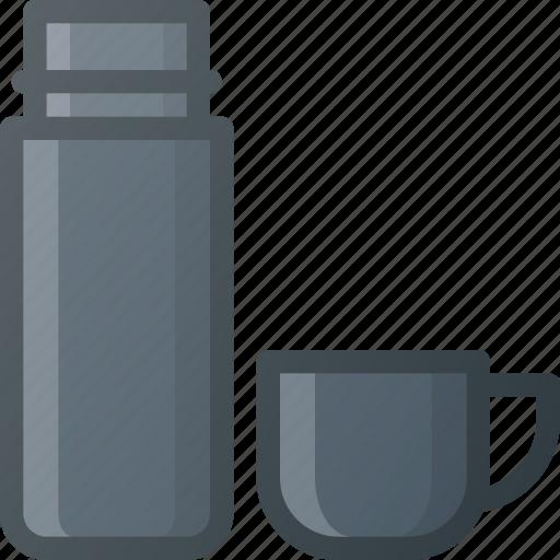 coffee, hod, tea, thermos icon
