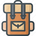 bag, camping, hiking icon