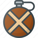 bottle, camping, hiking, tool icon