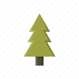 adventure, camping, pine, tree icon