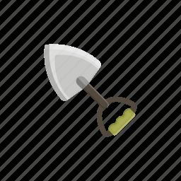 adventure, camping, equipment, shovel, tools icon
