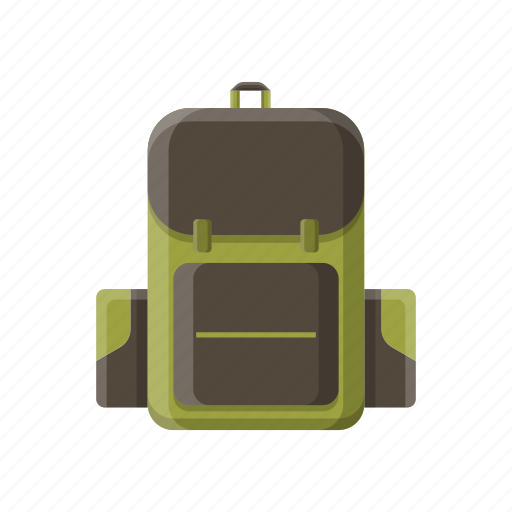 adventure, backpack, camping, equipment, tools icon
