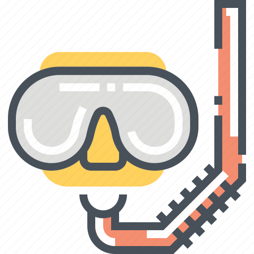 diver, diving, google, googles, safety, sport, tool icon