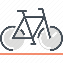 bike, biker, cycle, illustration, mountain bike, outdoor, transport icon