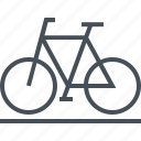 bike, biker, mountain bike, outdoor, race, transport icon