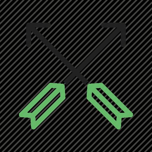 arrow, arrows, camping, design, drawn, element, logo icon