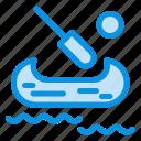 boat, canada, kayak