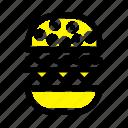burger, canada, eat, food icon