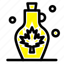 beverage, kettle, leaf, pot, water icon