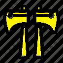 ax, canada, saw, wood icon