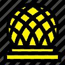 building, canada, city, dome icon