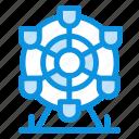canada, ferris, park, wheel icon