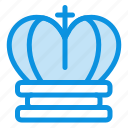 crown, empire, king, royal icon