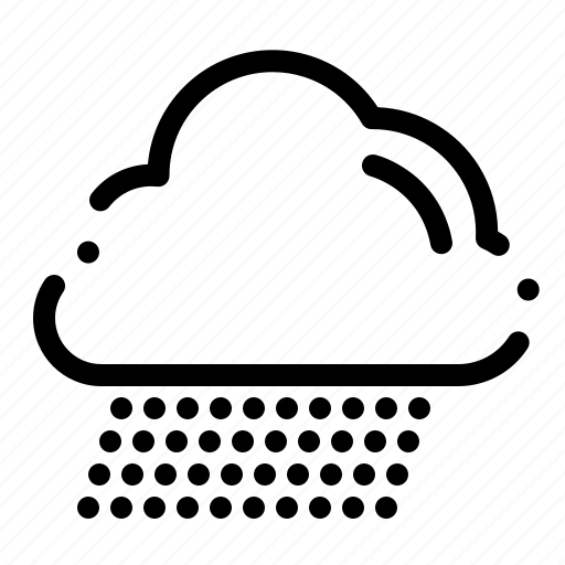canada, cloud, rain icon