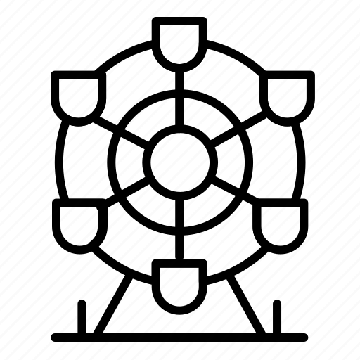 Canada, ferris, park, wheel icon - Download on Iconfinder