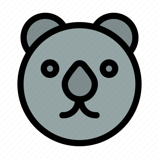 Bear, head, predator icon - Download on Iconfinder