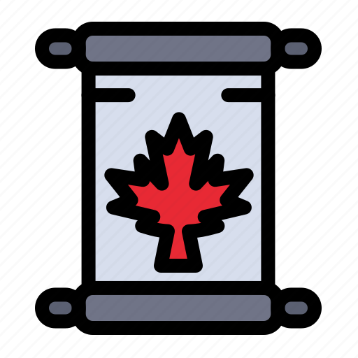 Autumn, canada, leaf, note icon - Download on Iconfinder