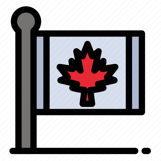 Autumn, canada, flag, leaf, maple icon - Download on Iconfinder