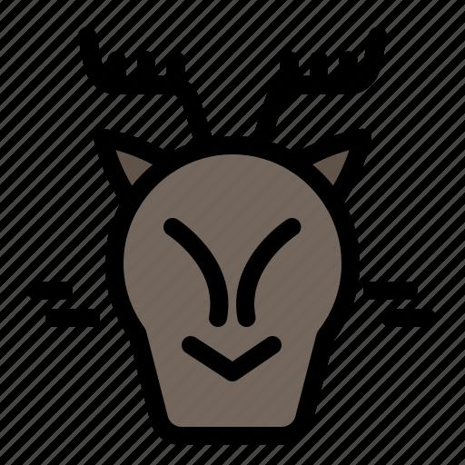 Alpine, arctic, canada, reindeer icon - Download on Iconfinder