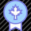 badge, canada, leaf, national, sign