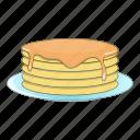 cooking, food, pancake, sweet icon