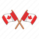 canada, country, flag, national