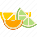 candy, lemon, lime, marmalade, orange icon