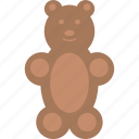 bear, candy, chocolate, sweet icon