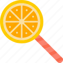 candy, chupa, chups, orange, sweet icon