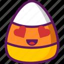 candy, corn, ejomi icon