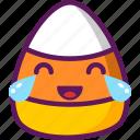 candy, corn, ejomi, relieved, emoticon icon