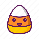 candy, corn, ejomi, grinning icon