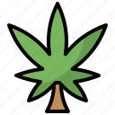 botanical, cannabis, drug, leaf, marijuana, nature, weed icon