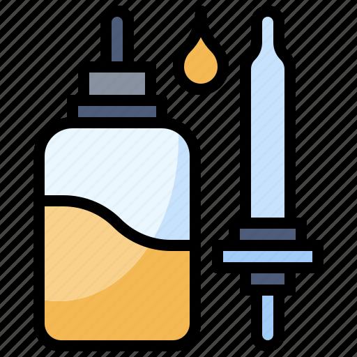 Bottle, dropper, drugs, healthcare, medical, medicine, pills icon - Download on Iconfinder