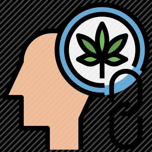 addiction, brain, drug, head, medicine, mental, psychology icon