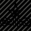 product, marijuana, symbol, rope, cannabis, hemp icon