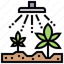 agriculture, cultivation, farm, indoor, planting icon