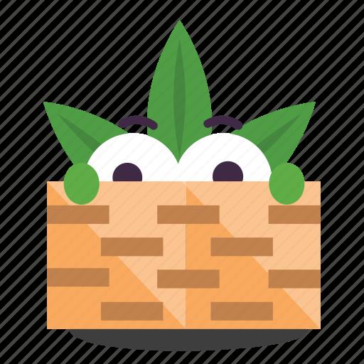 cannabis, hiding, illegal, marijuana, weed icon