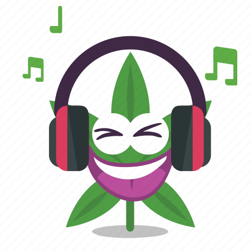 cannabis, cool, marijuana, music, weed icon