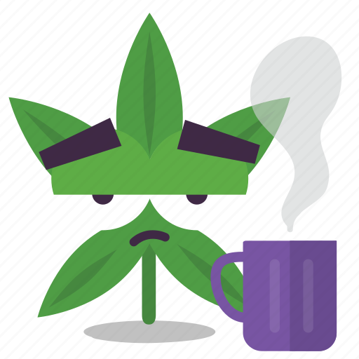 cannabis, marijuana, sleepy, tired, weed icon
