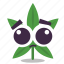 cannabis, marijuana, sad, weed icon