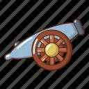 armament, army, cartoon, gun, logo, object, small