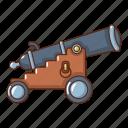 armament, army, cartoon, gun, logo, object, siege