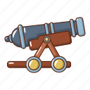 armament, army, cannon, cartoon, enemy, logo, object