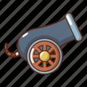aircraft, anti, armament, cartoon, gun, logo, object