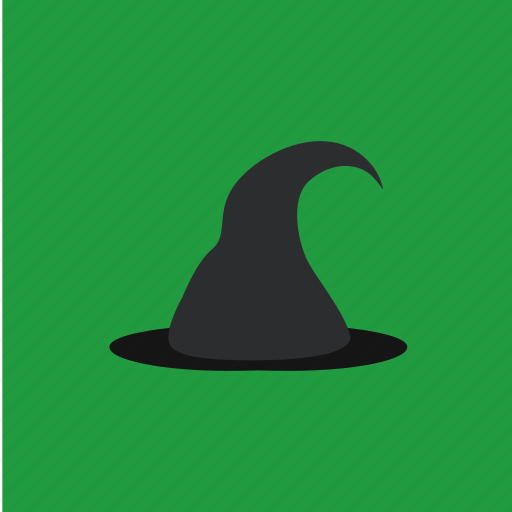 cap, fashion, hat, magic icon