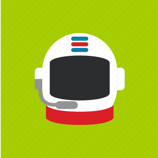 astronaut, cap, graduation, hat icon