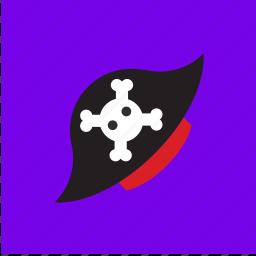 cap, hat, pirate, skull icon