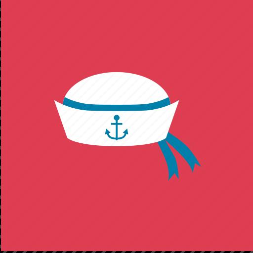 anchor, cap, fashion, hat, sailor icon