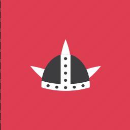 cap, hat, helmet, viking icon